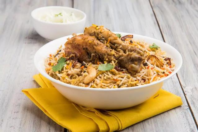 Hyderabadi Chicken Biryani Recipe in Hindi