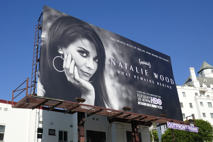 Natalie Wood What Remains Behind documentary billboard