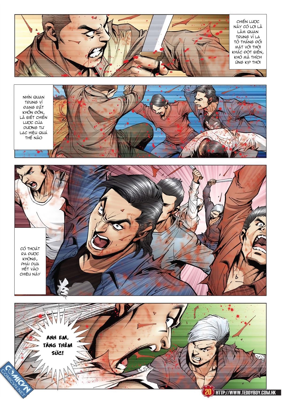 Người Trong Giang Hồ chapter 1986: chạy trang 18