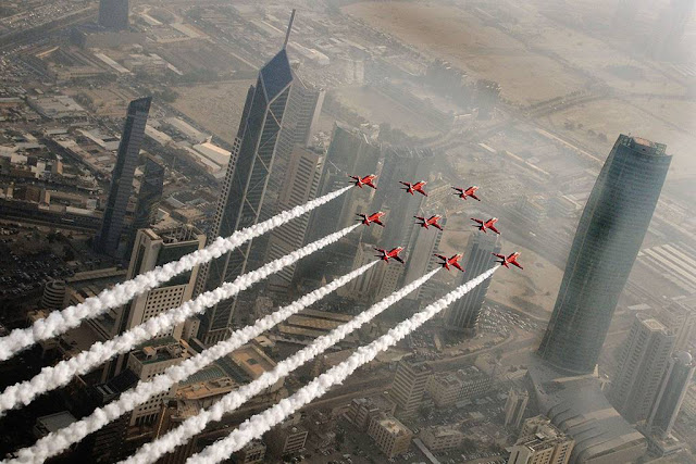 RAF Red Arrows Middle East