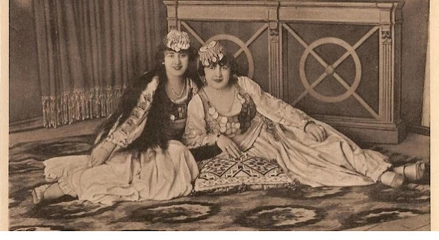 Marubi photos, two women