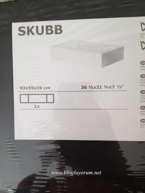 skubb yatak altı saklama kutusu1