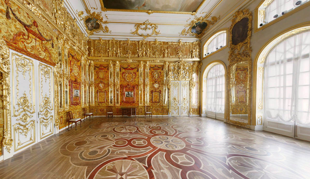 Winter Palace Research The Amber Room And The Wine Bottle