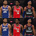 NBA 2K21 Philadelphia 76ers Jersey Pack by Pinoy21 Released