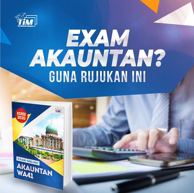e-book Rujukan Peperiksaan Online Akauntan Gred WA41