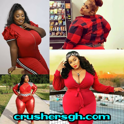 Plus Sized Women Flaunts Their Gorgeous Boobs, Curves And Hips Dressed In Read Outfits_PHOTOS