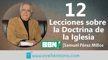Samuel Pérez Millos: 12 Lecciones sobre la doctrina de la iglesia