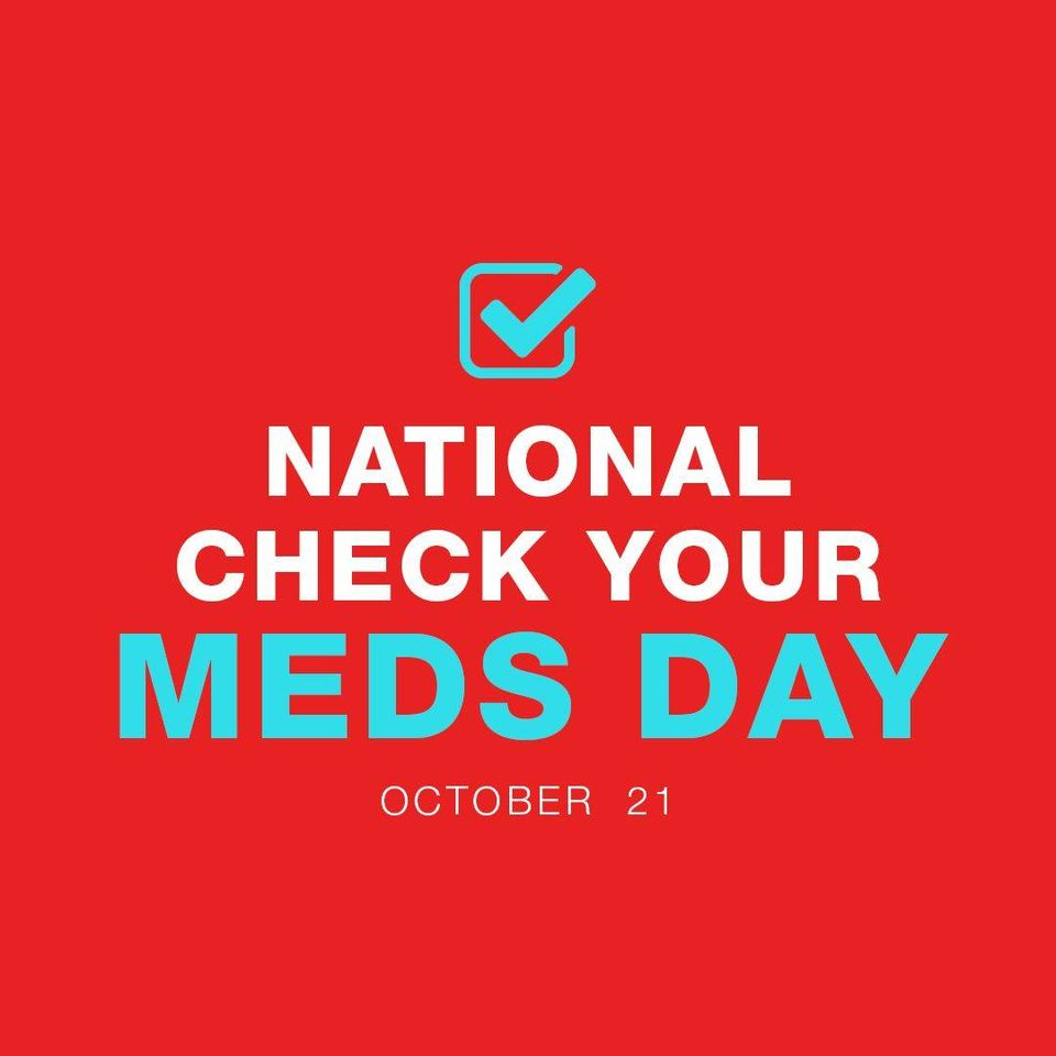 National Check Your Meds Day Wishes Sweet Images