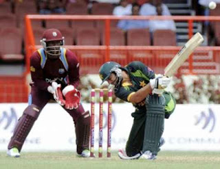Shahid Afridi 7-12 - West Indies vs Pakistan 1st ODI 2013 Highlights