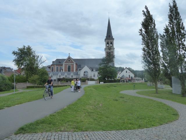 Vista de Sint-Amanduskerk