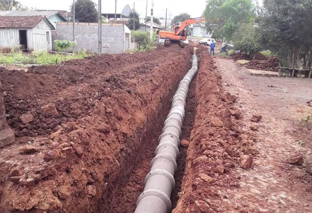 Iretama: Prefeitura instala galeria de águas pluviais no Distrito de Águas de Jurema