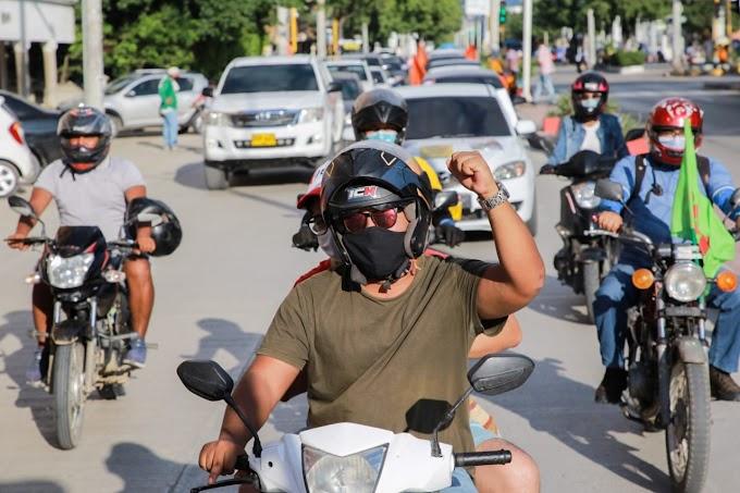 La calma y el orden se impusieron en marchas del Paro Nacional en Magdalena, tras acompañamiento de la Gobernación y autoridades