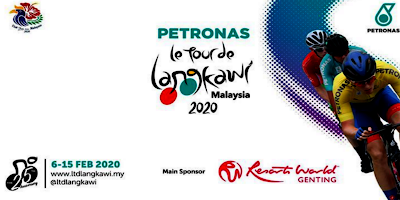 Jadual LTDL 2020 Le Tour de Langkawi (Kedudukan)