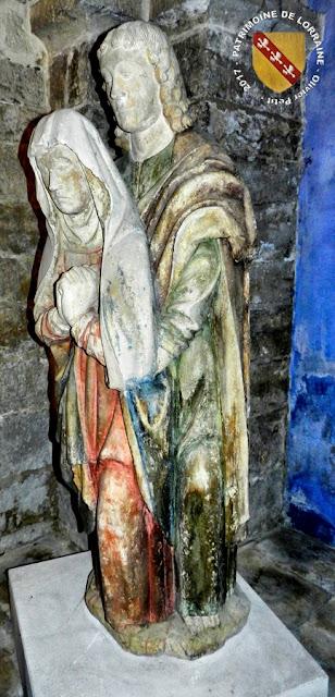 CONTREXEVILLE (88) - Pâmoison de la Vierge (XVIe siècle)