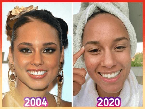 Alicia Keys Eski Hâli ve Son Hâli