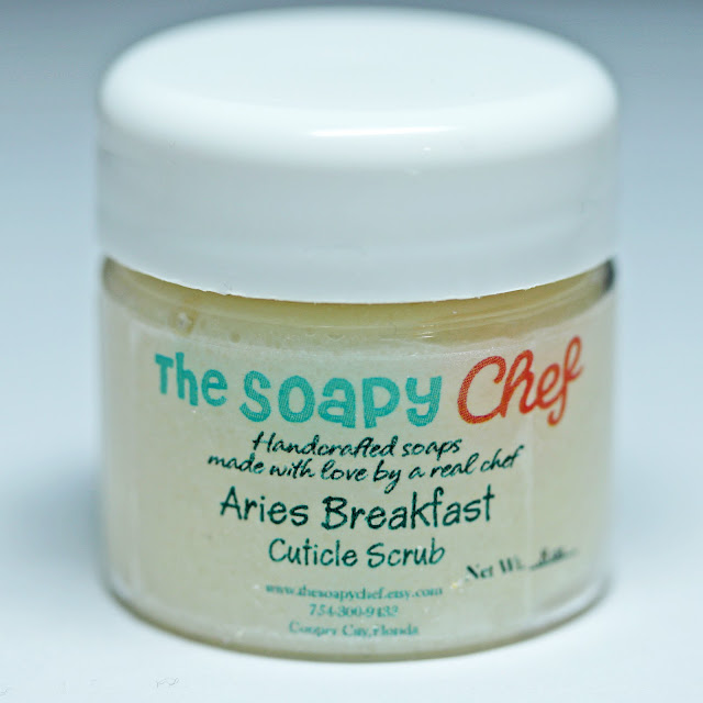 The Soapy Chef Aries Breakfast Club Cuticle Scrub