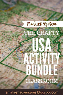 USA Activity Bundle from The Crafty Classroom {Product Review}