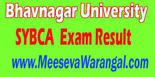 Bhavnagar University SYBCA Final (001-500) 2016 Exam Result