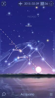 Camminare nel cielo stellato