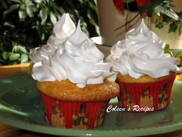 Easy Cake No Icing: Coleen's Recipes: FLUFFY WHITE FROSTING