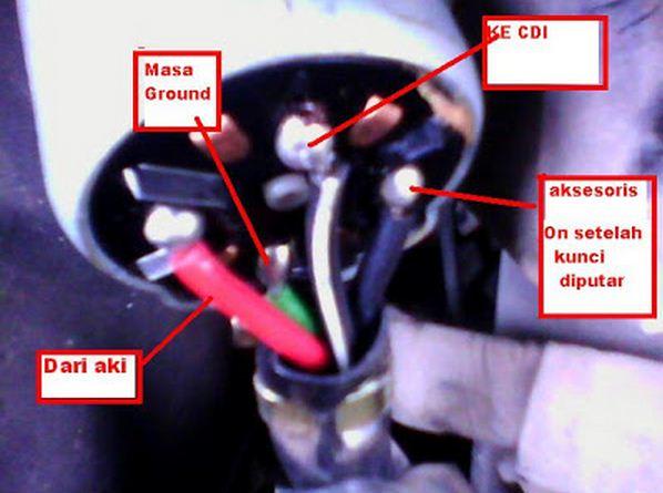 Rahasia Menghidupkan Motor Tanpa Kunci Kontak  Anda Pun