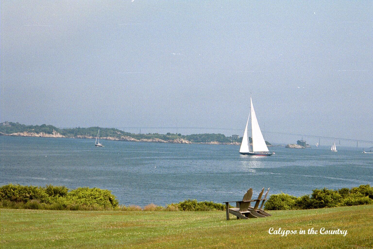 View from the Castle Hill Inn - Newport Rhode Island