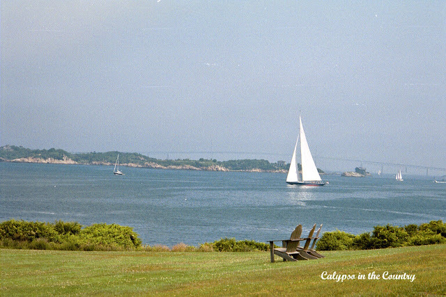 View from the Castle Hill Inn - Newport Rhode Island