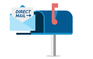 Direct Mail Marketing Graphic