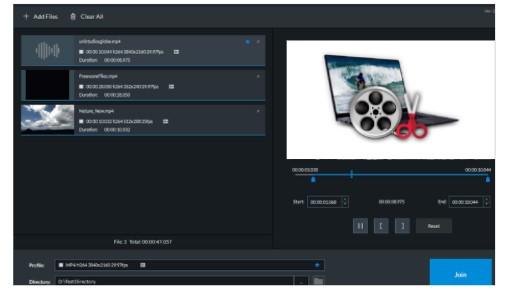 برنامج دمج الفيديوهات 2021 كامل متاح للتحميل  - Gihosoft Free Video
