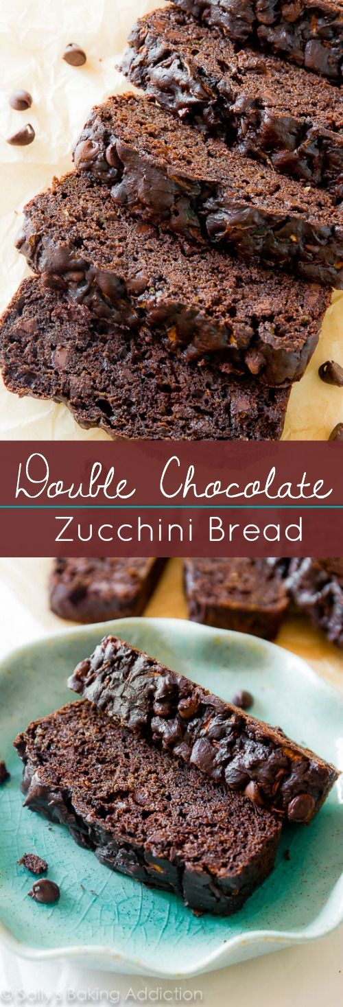 Double Chocolate Zucchini Bread.