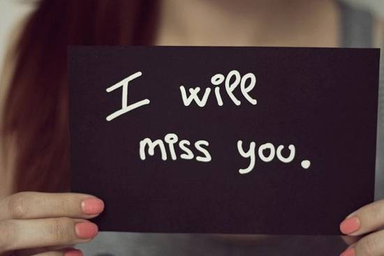 Love Text Messages Quotes Poems And Sms 40 I Will Miss You Quotes Custom I Will Miss You Quotes