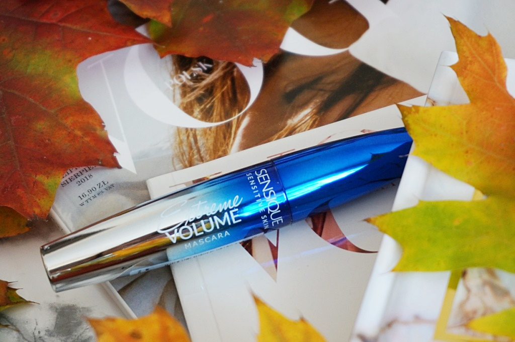 Sensique extreme volume mascara makijaż