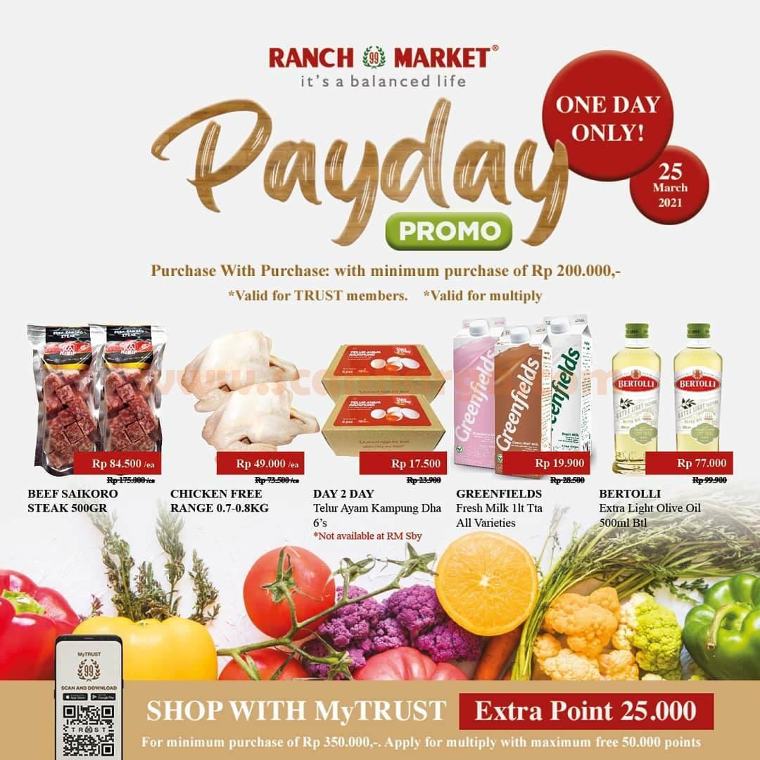 Promo RANCH MARKET PAYDAY PWP – Pembelian dengan Pembelian