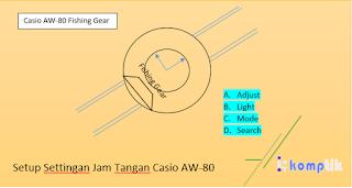 Setup Settingan Jam Tangan Casio AW-80