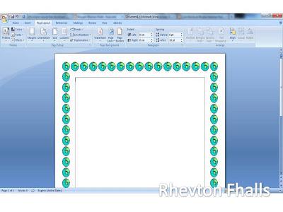 Cara Membuat Bingkai di MS Word