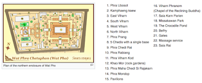 Map of Wat Pho