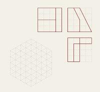 Dibujo de piezas en isométrico dadas sus vistas