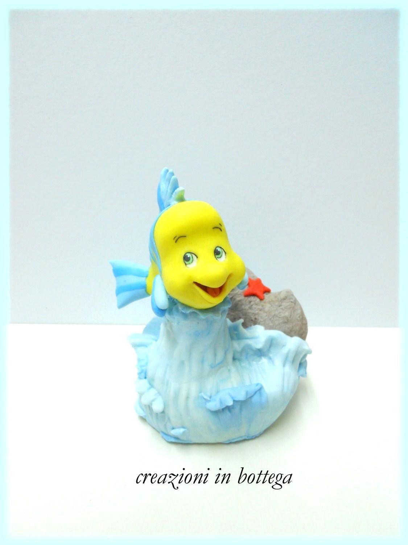 Creazioni in bottega flounder il pesciolino del cartone