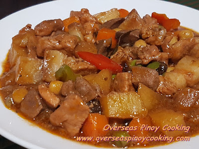 Pork and Chicken Menudo