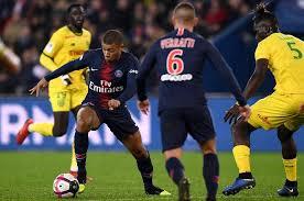مباراة باريس سان جيرمان ونانت الان