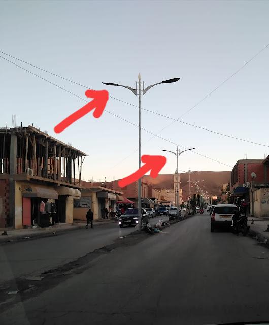 استياء المواطنين بقصر الشلالة من غياب الإنارة العمومية ببعض الشوارع والأحياء بالمدينة