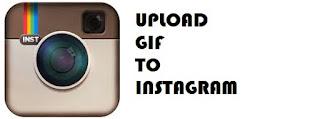 cara upload gif ke instagram