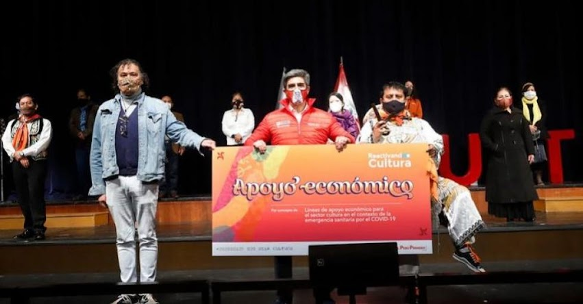 Ministerio de Cultura entrega apoyos económicos para reactivar actividades en este sector