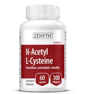 N-Acetyl L-Cysteine Zenyth pareri forum proprietati
