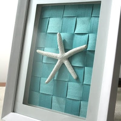 creative framing turquoise