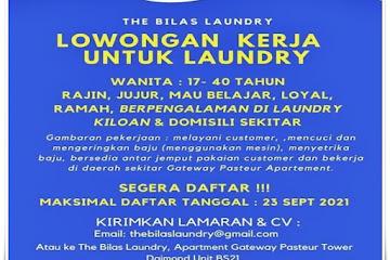 Loker Bandung Laundry The Bilas