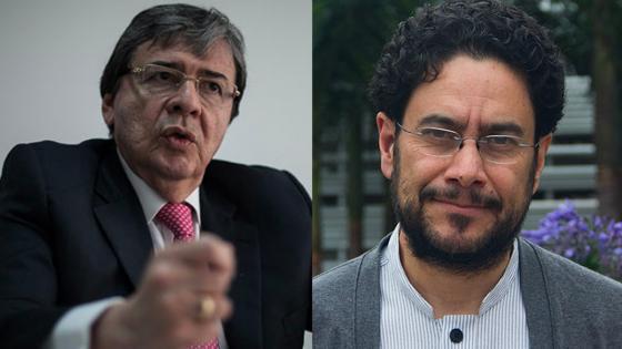 'Actitud del MinDefensa es una incitación a la violencia', Iván Cepeda