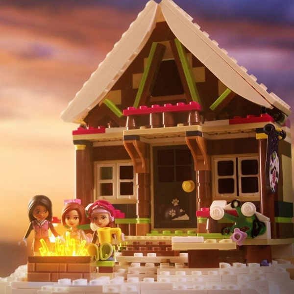 Lego friends alpine set