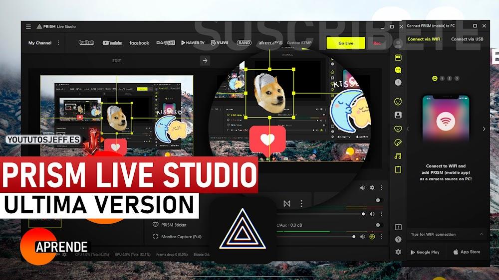 Descargar PRISM Live Studio Ultima Versión para PC