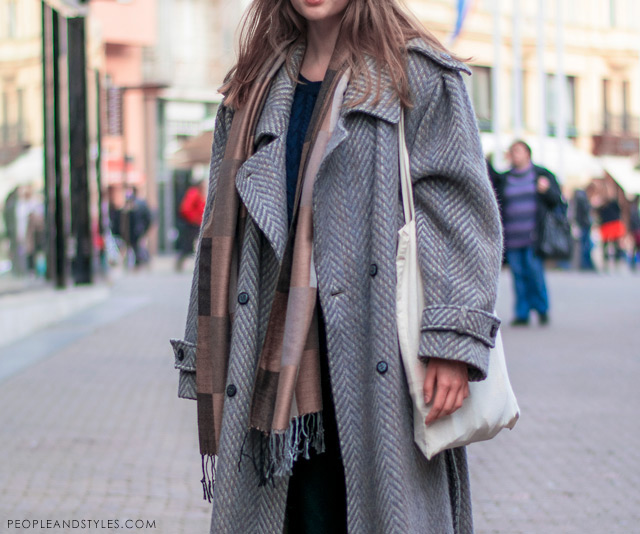 Lucija Furač latest street winter 2014 fashion